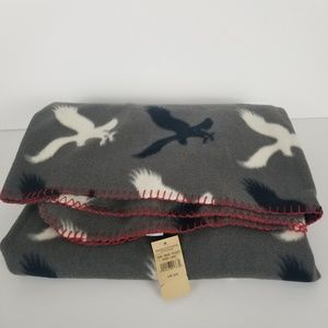 American Eagle Outfitters Fleece Throw Blanket